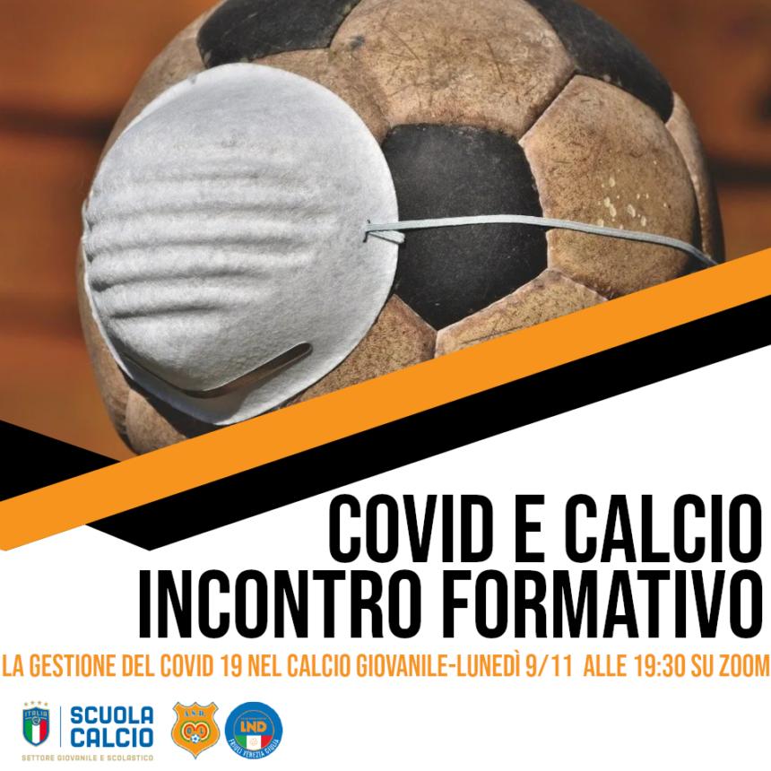 """Incontro formativo """"La gestione del COVID 19 nel calcio giovanile"""""""
